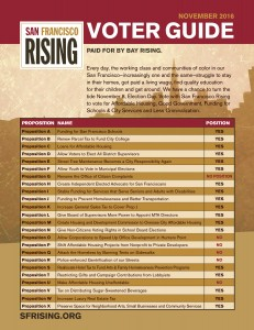 SF Rising Fall 2016 Voter Guide (English)