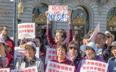 Protesters Slam Recall Effort Against San Francisco Supervisor Sandra Lee Fewer